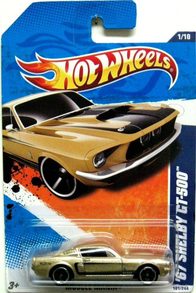 1967 Ford Mustang Shelby Gt 500 Hot Wheels Shelby Gt Shelby