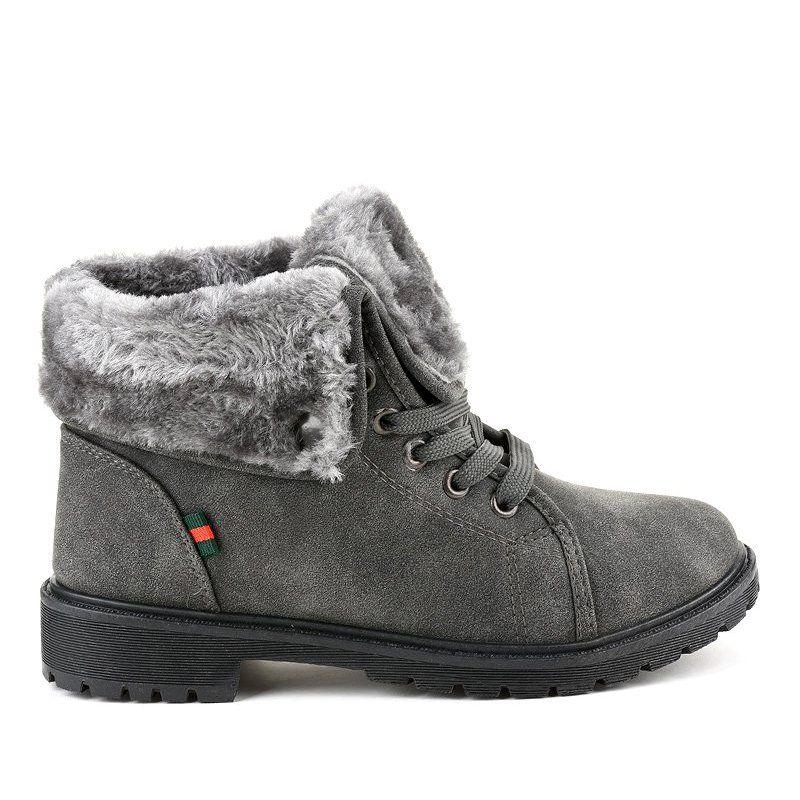 Gray Insulated Women S Shoes Tl54 3 Grey Women Shoes Boot Shoes Women Boots