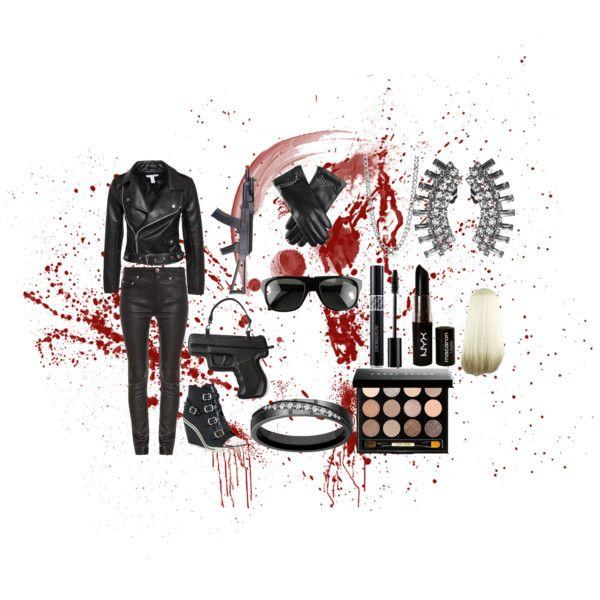 Terminator by vreardon on Polyvore featuring NLY Trend, Acne Studios, Ash, Vlieger & Vandam, Shay, BERRICLE, Ugo Cacciatori, Bobbi Brown Cosmetics, Christian Dior and NYX