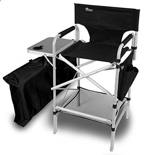 Amazon.com : Earth Executive VIP Tall Directors Chair : Camping Chairs :  Sports U0026