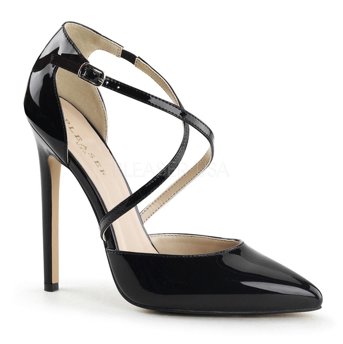 Chaussures Pleaser noires homme OKAS9P