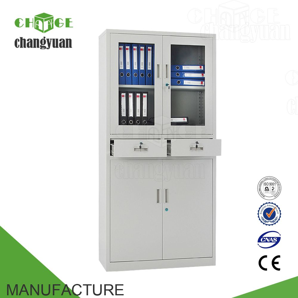 Classic Up And Down Filing Cabinet For Steel Office Furniture