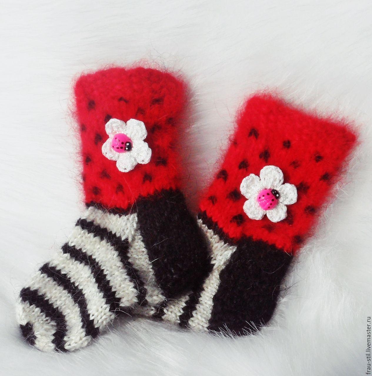 Купить Детские носочки вязаные Frau Stil Babyschuhe gestrickt Wollsocken - детские носочки