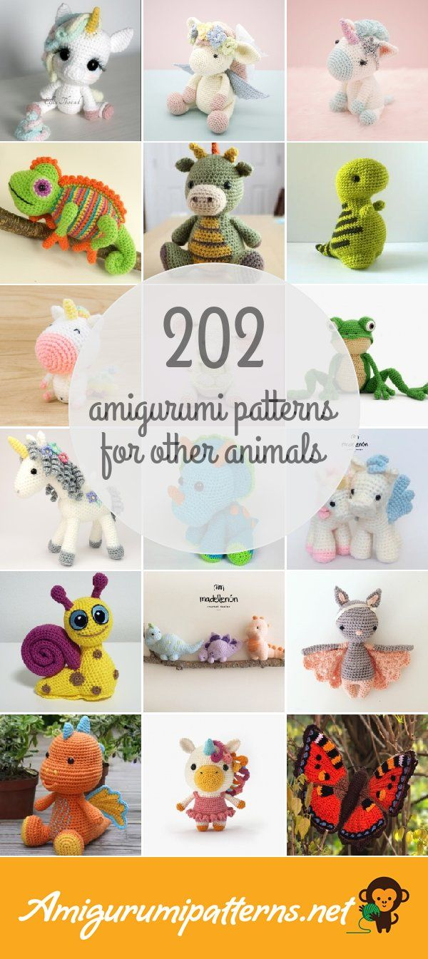 202 Other Animals Amigurumi Patterns - Page 2 | Amigurumi ...