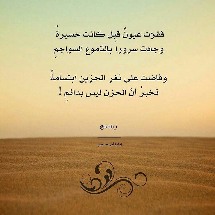 ايليا ابو ماضي Quotes Arabic Quotes Words