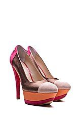 shoetation - fersengold pumps berlin multi