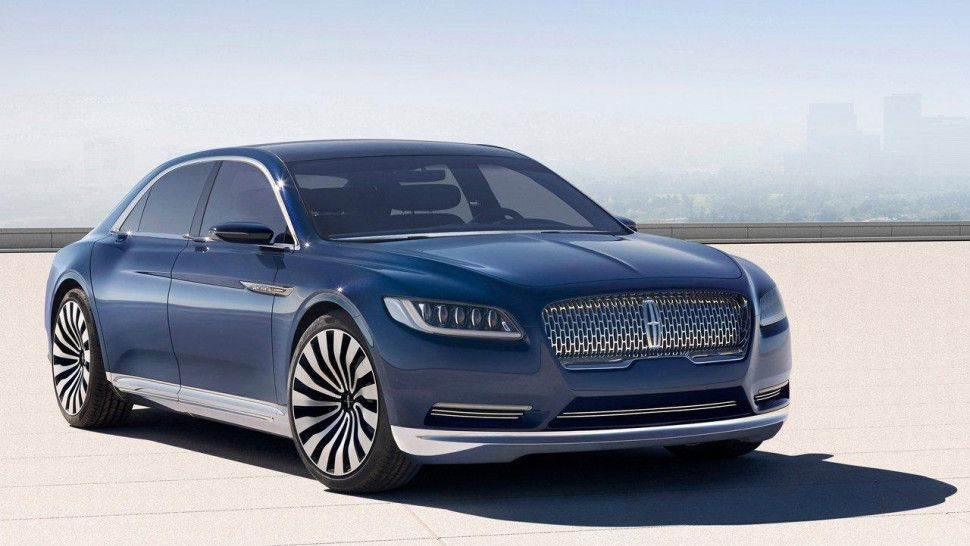Lincoln Will Produce Its Continental Flagship Luxury Sedan In