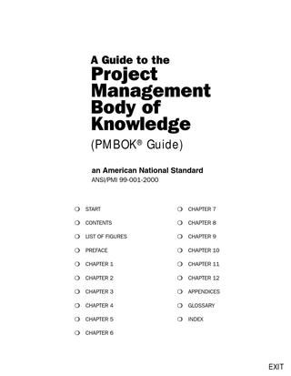 pmbok chapter 2
