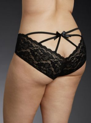 Black Caged Lace Hipster Panty in 2018  8f629f03b