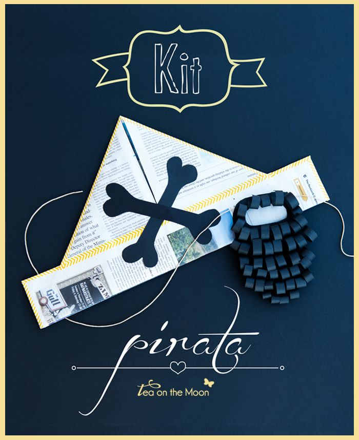 Kit pirata   I DO craft for kids   Pinterest   Piratas, Proyectos ...