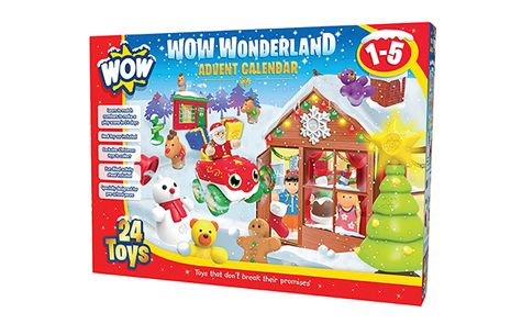 Christmas Prize Draw Wow Toys Advent Calendar Toy Advent