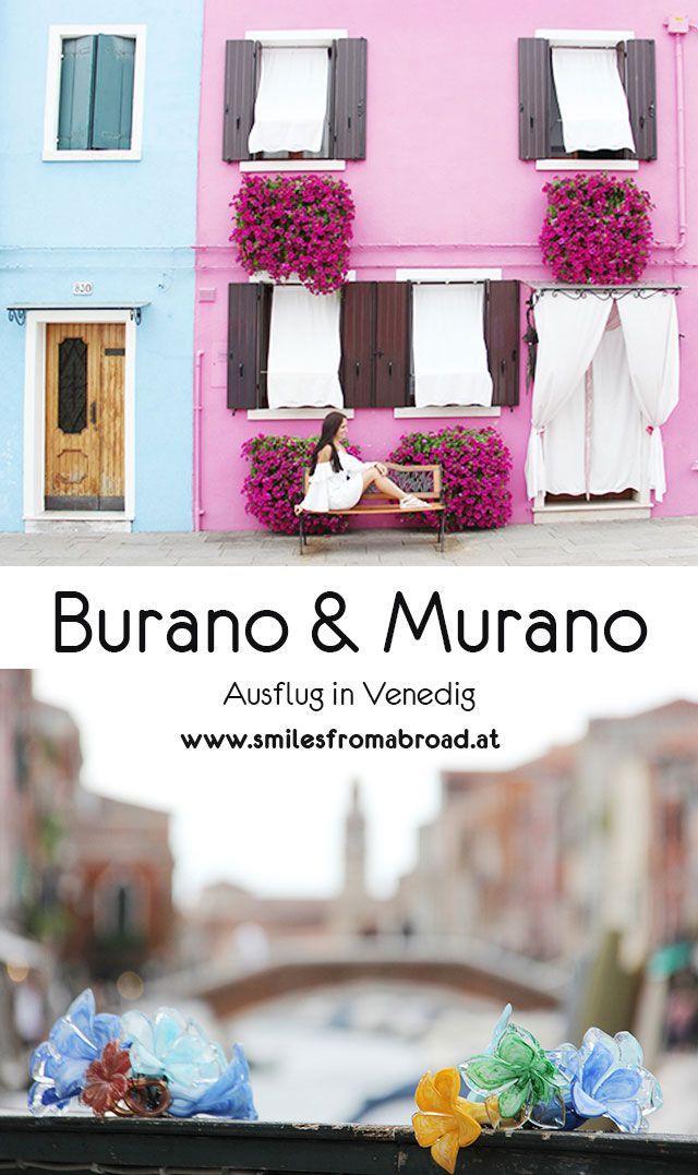 Burano und Murano in Venedig erkunden #burano #murano #venedig