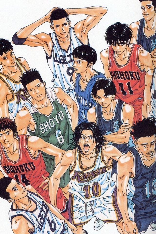 Slam Dunk Iphone Wallpaper Animes Manga Anime Manga