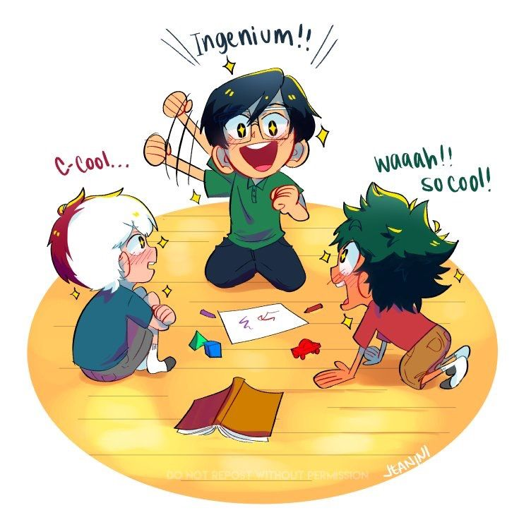 they should have been childhood friends - edit Todoroki wouldn't be a full time member of the squad because his dad and training(@buse) #childhoodfriends