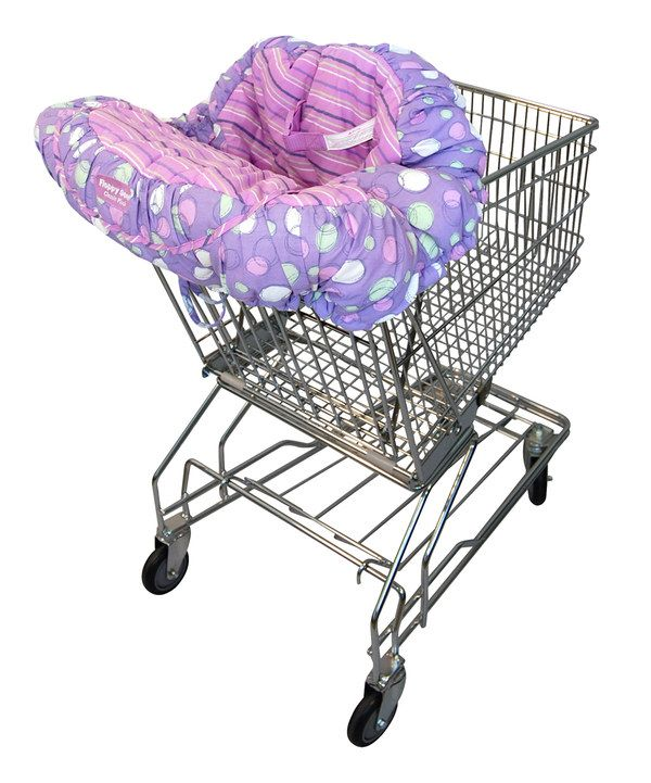 Take a look at this Grape Sorbet EZ Carry Shopping Cart Cover on zulily today!
