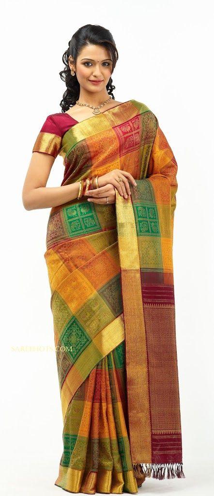 Tamil Actress Aarthi In Silk Saree Beautiful Clothes Saree