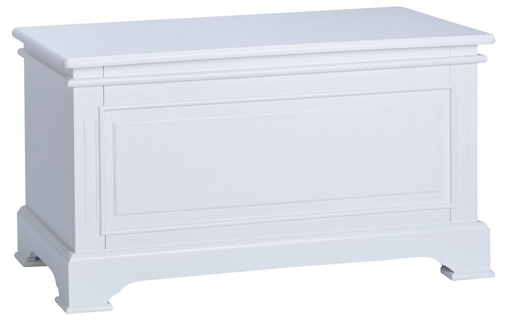 Best Chantilly White Painted Blanket Box Painted Blanket Box 400 x 300
