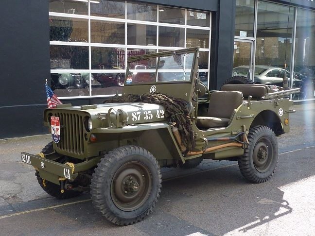 Willys Jeep For Sale >> Willys Jeep Left Hand Drive World War 2 For Sale At Dd