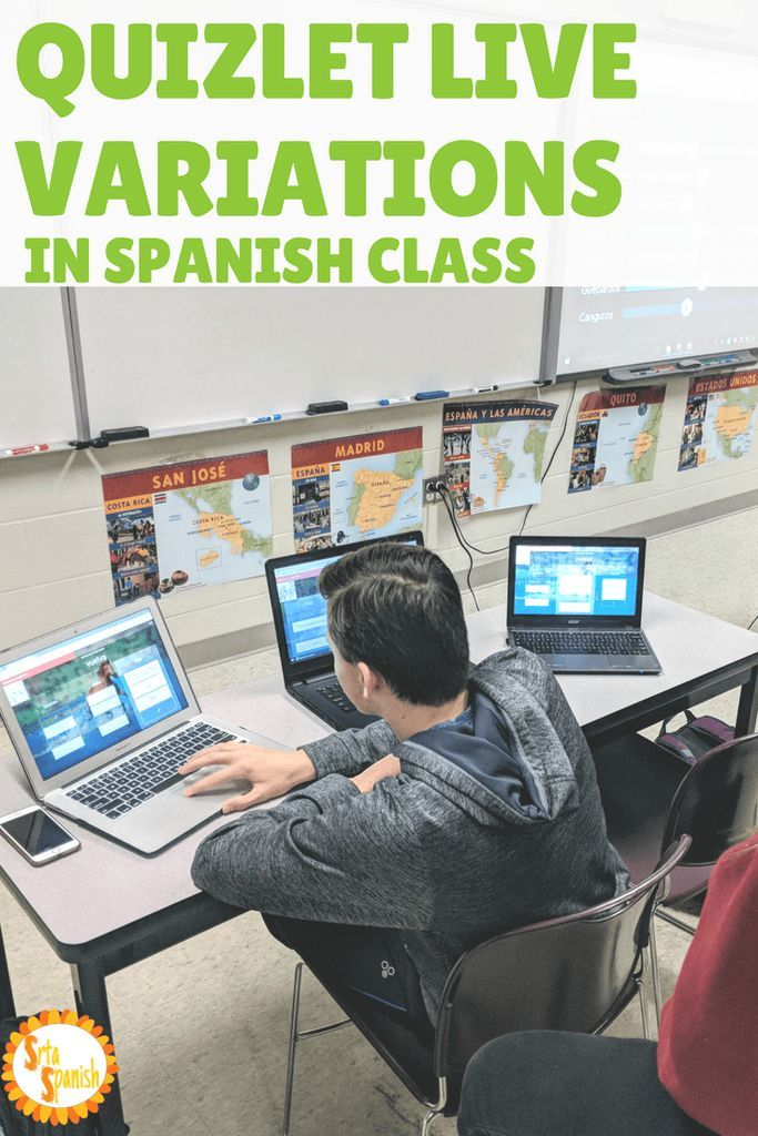 Quizlet Live Variations in Spanish Class | Learning ...