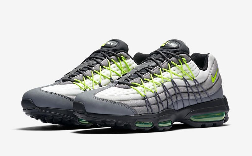 "Nike Updates the to Debut the Nike Air Max 95 Ultra SE ""Neon"""