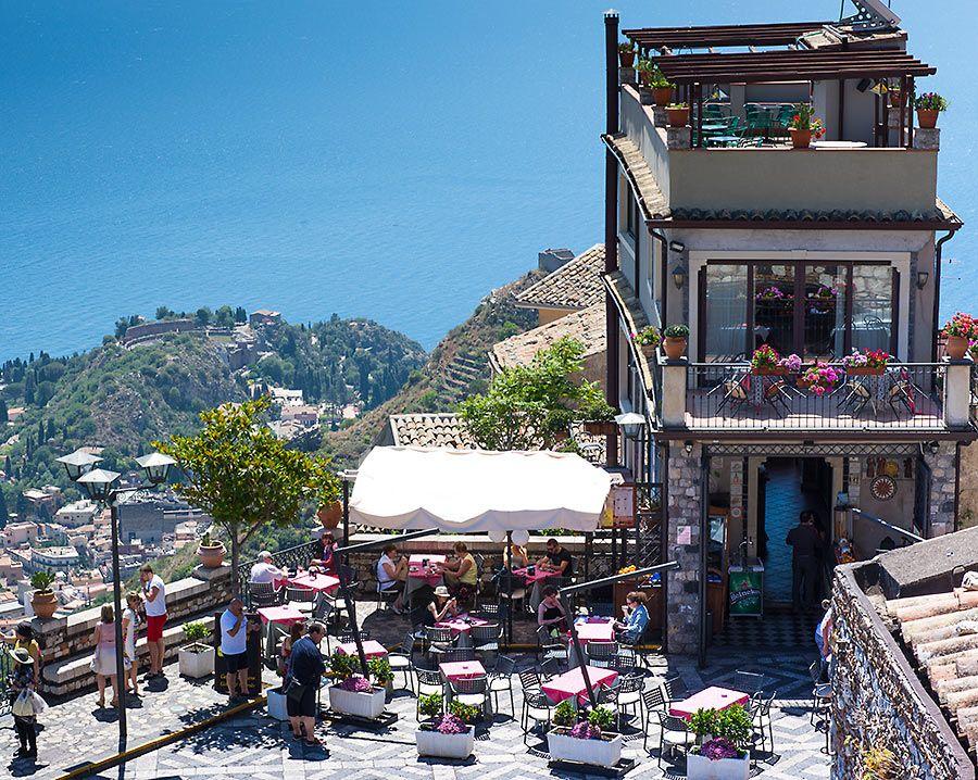 Bar San Giorgio Castelmola Taormina Italy Street View