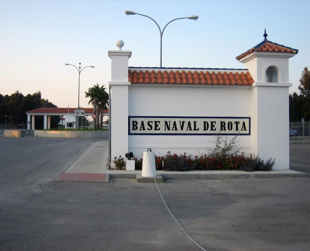 naval base in rota spain flew to rota from dover del on c5 then on