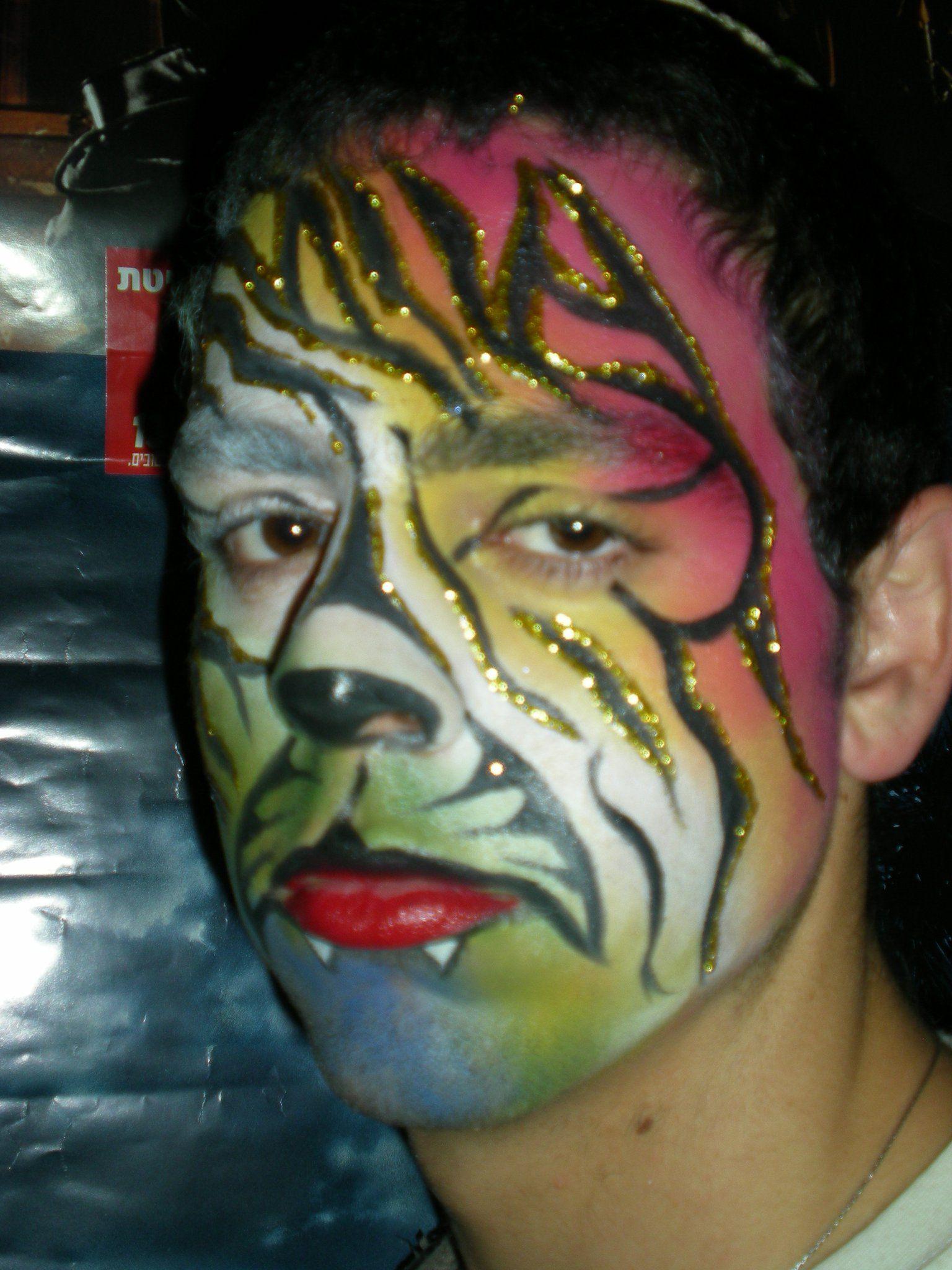 Fashionbank ציורי פנים carnival face paint face painting