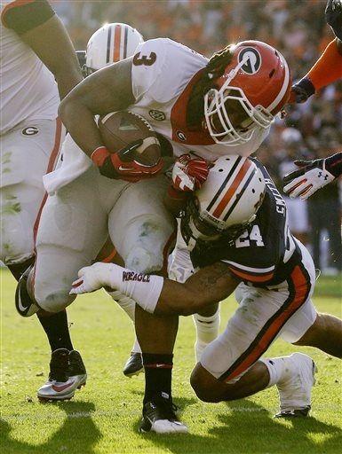 Georgia Bulldogs vs. Auburn Tigers - Photos - November 16 ...