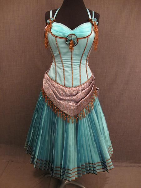 Turquoise Vintage Dresses