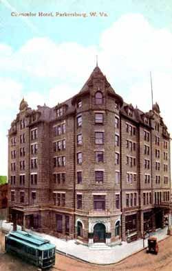 The Old Chancellor Hotel Parkersburg Wv Demolished