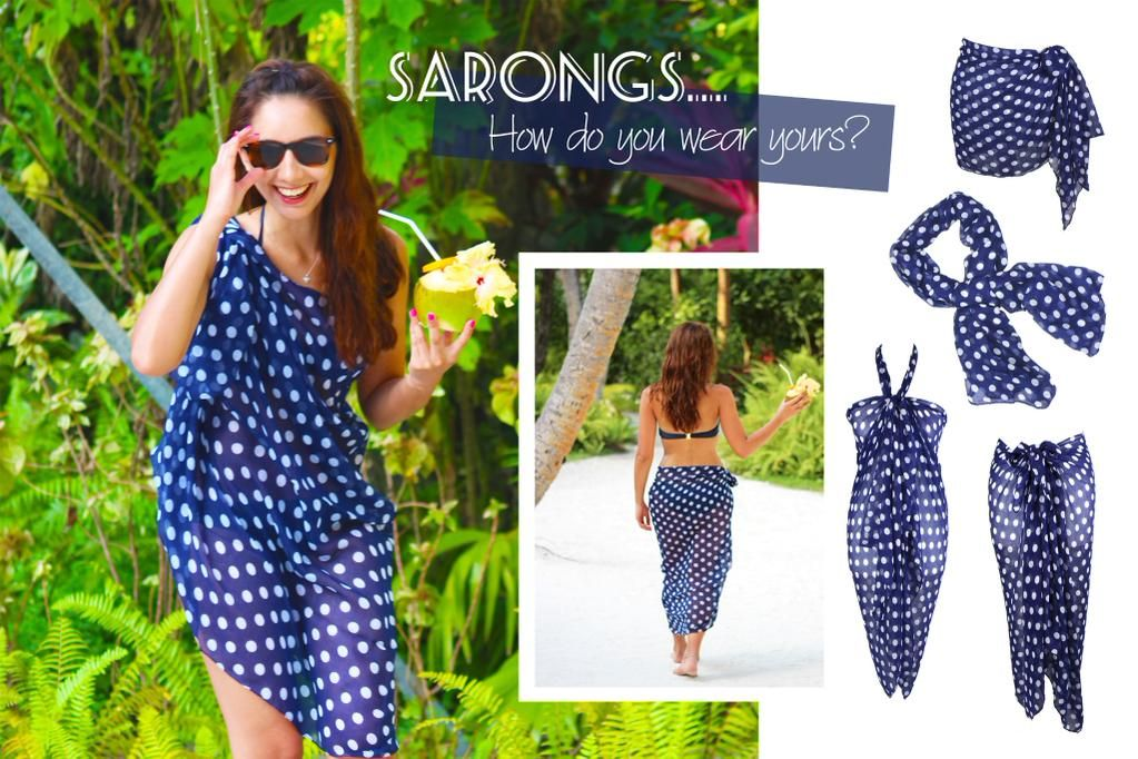 a22d7cbab7f86 How do you wear your sarong? #Beach #Fashion #Sarongs #Style #Maldives  #Photoshoot <3 #Coconuts