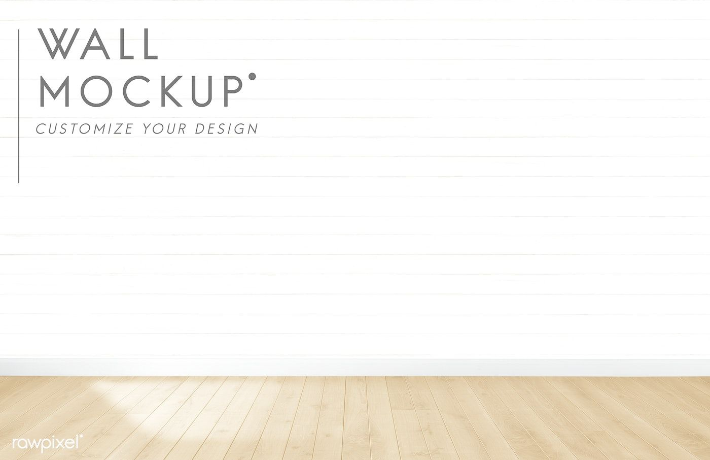 Empty Room With A White Wall Mockup Free Image By Rawpixel Com Empty Room White Walls Burgundy Walls