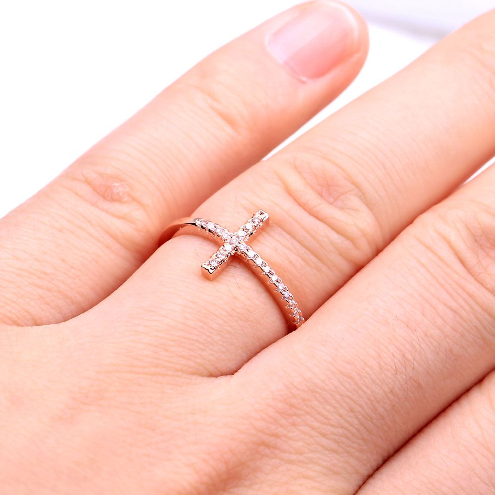 http://gemdivine.com/trend-sideways-cross-silver-plated-rings ...