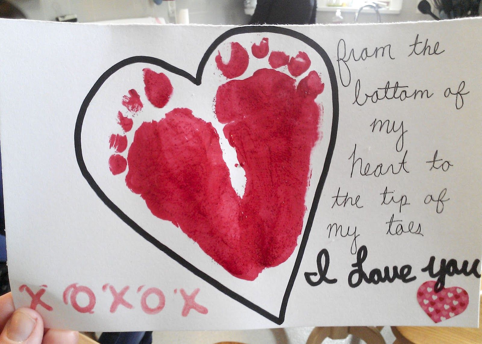 Valentines Day Heart Valentines Pinterest Infant Craft And Clay