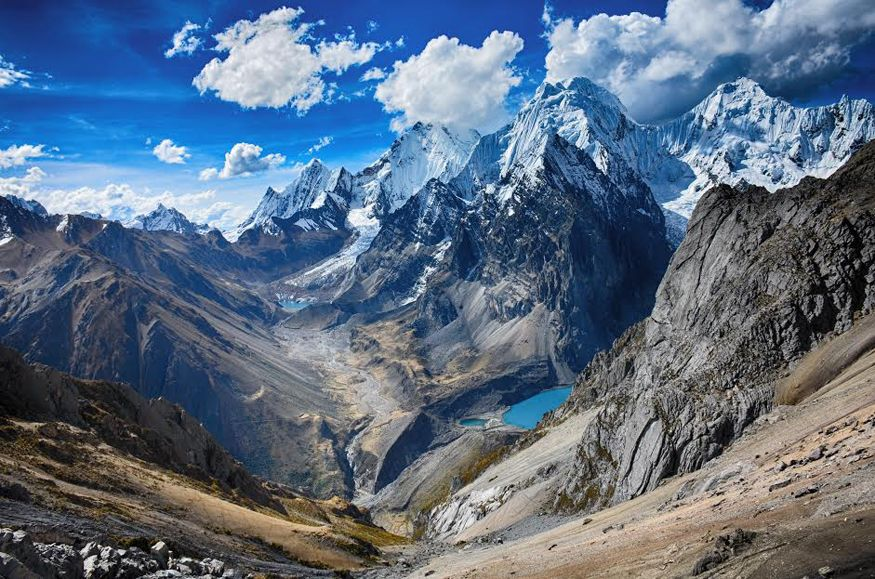 The Cordillera Huayhuash trekking circuit in the Andes of Peru. Picture: Yasmeen Ali of Monymusk, Aberdeenshire