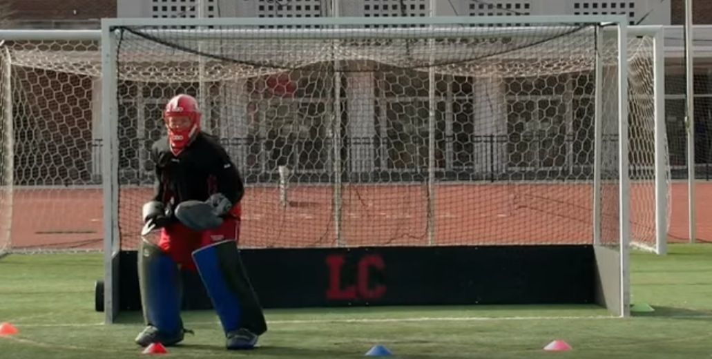 A Goalkeeping Drill That Will Improve Your Footwork A Hockey