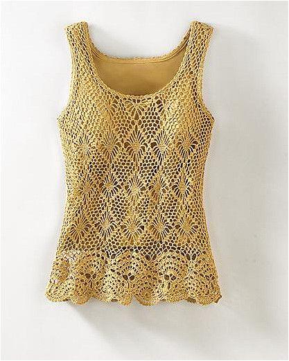 Amarillo a crochet