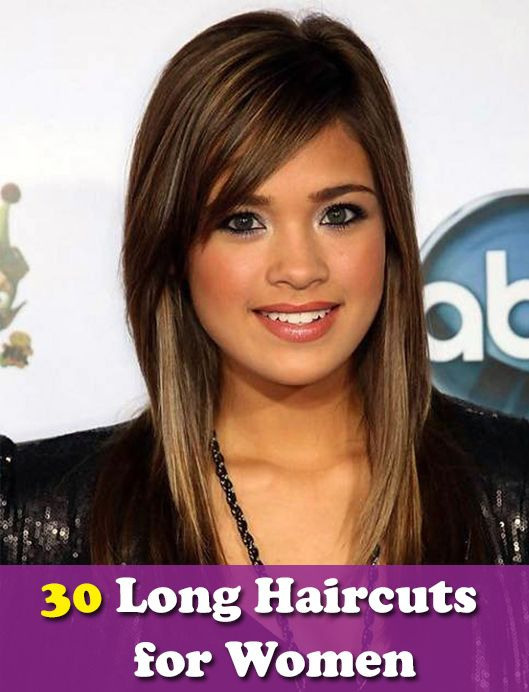 Side Swept Blunt Bangs For Heart Shaped Face 30 Long Haircuts For Women Hair Haircut Hairstyle Lon Side Bangs Hairstyles Long Sleek Hair Long Hair Trends