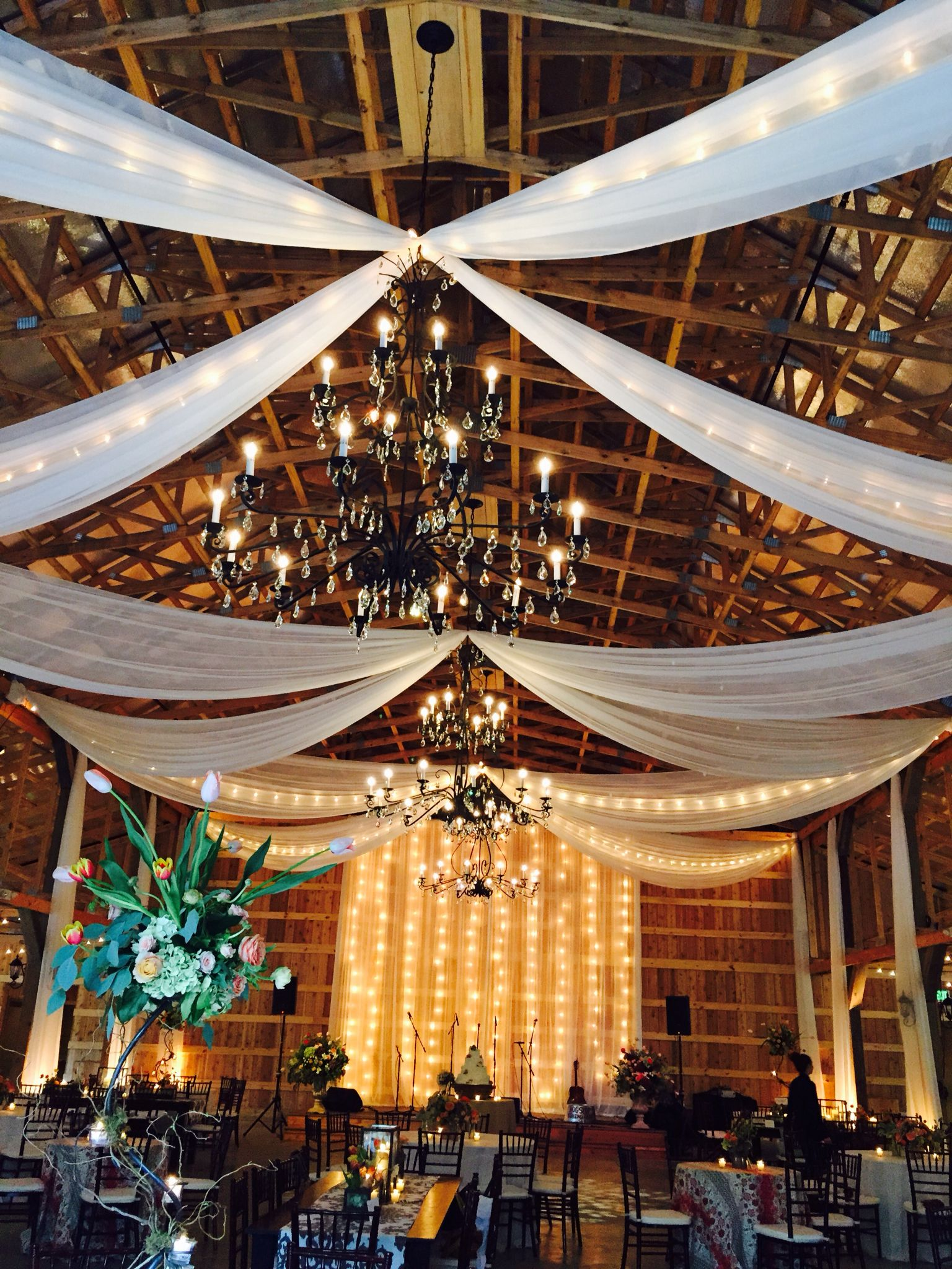 Saddle woods farm wedding venue design by big events draping by saddle woods farm wedding venue design by big events draping by nashville event draping junglespirit Image collections