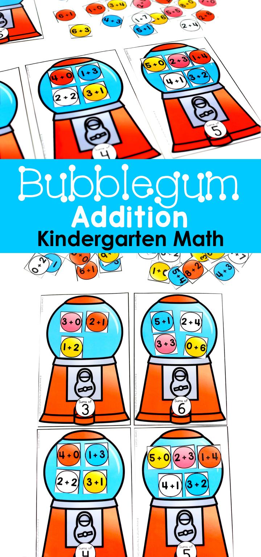 Kindergarten Math: Addition   Matheunterricht und Kind