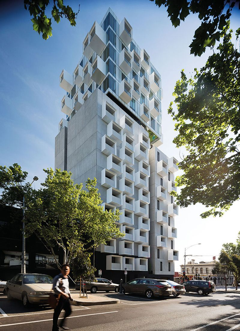 Jackson Clements Burrows Design An Apartment Building With