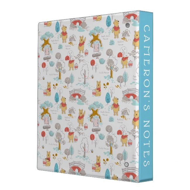 In The Hundred Acre Wood 3 Ring Binder