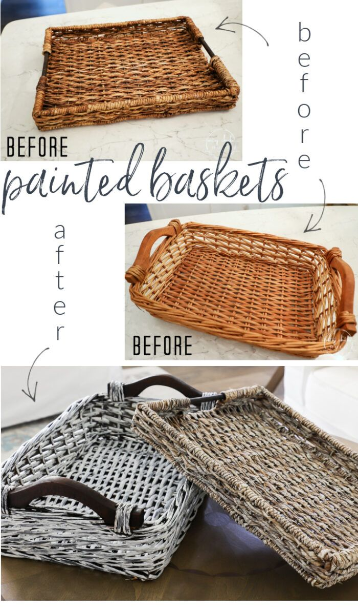 Photo of Thrifted Basket Makeover Ideas – Artsy Chicks Rule®