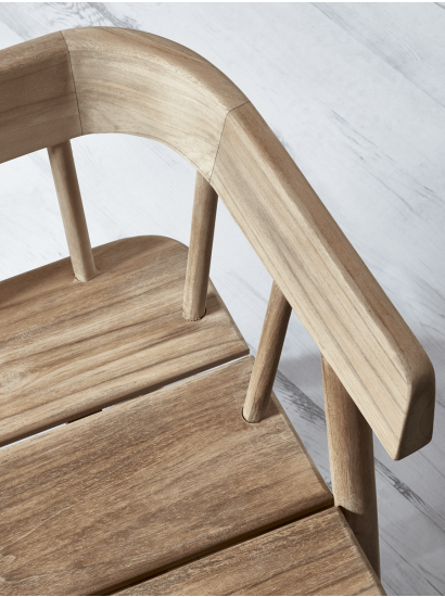 Handcrafted Teak Bench Teak Bench Teak Furniture Luxury Seating
