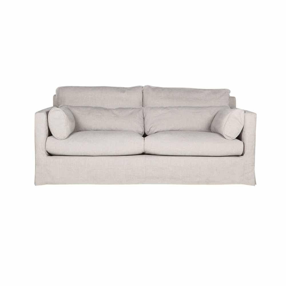 Hussensofa Sandrine 2 3 Sitzer Grau Beige In 2020 Sofa Beige Sofa Design Und Landhaus Mobel