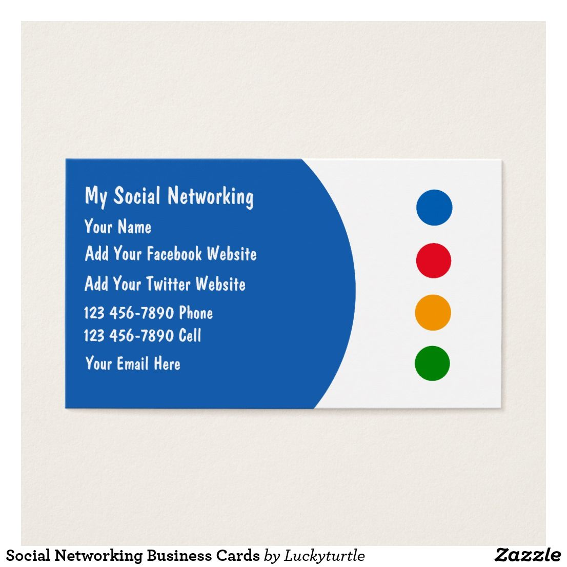 Social Networking Business Cards Zazzle Com Business Cards Social Networks Cards