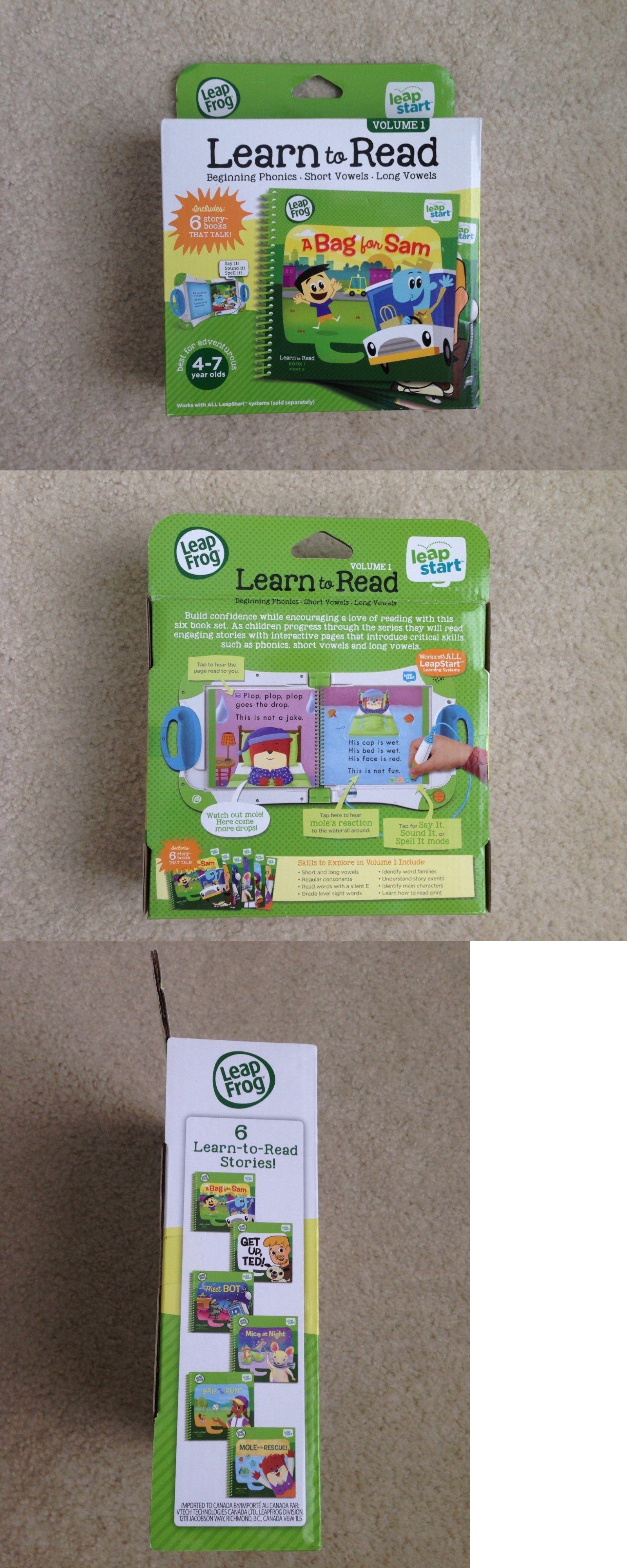 fc7ef1f7e0d1e Electronic Learning Toys 177915  Leapfrog Leapstart Learn To Read Volume 1