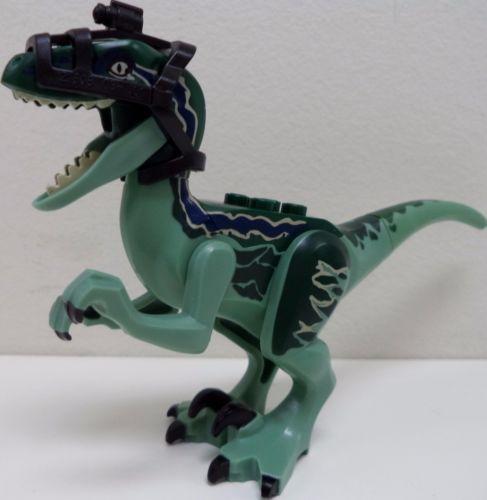 Lego Jurassic World Set 75917 New Dino Figure Of Blue Raptor