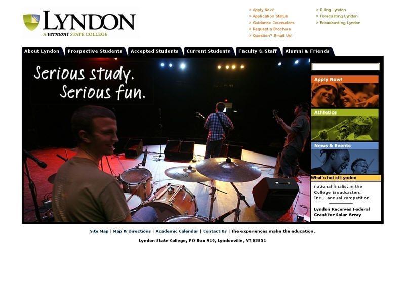 Lyndon State College State college, University list, College