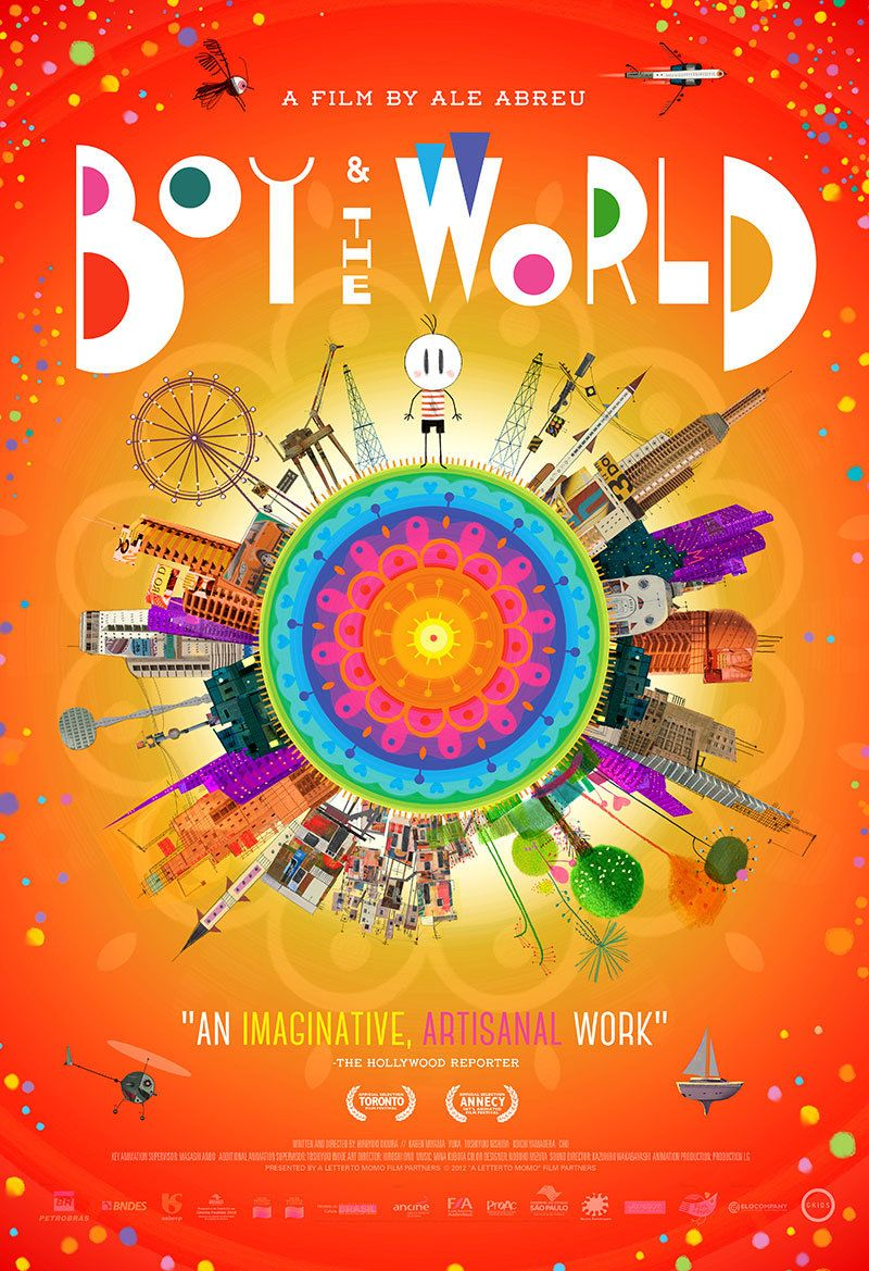 "Ale Abreu's ""Boy and the World"" ('13) Animated movies"